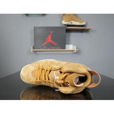 Air Jordan 6 Retro Wheat 384664-705 Golden Harvest/Elemental Gold Sneakers