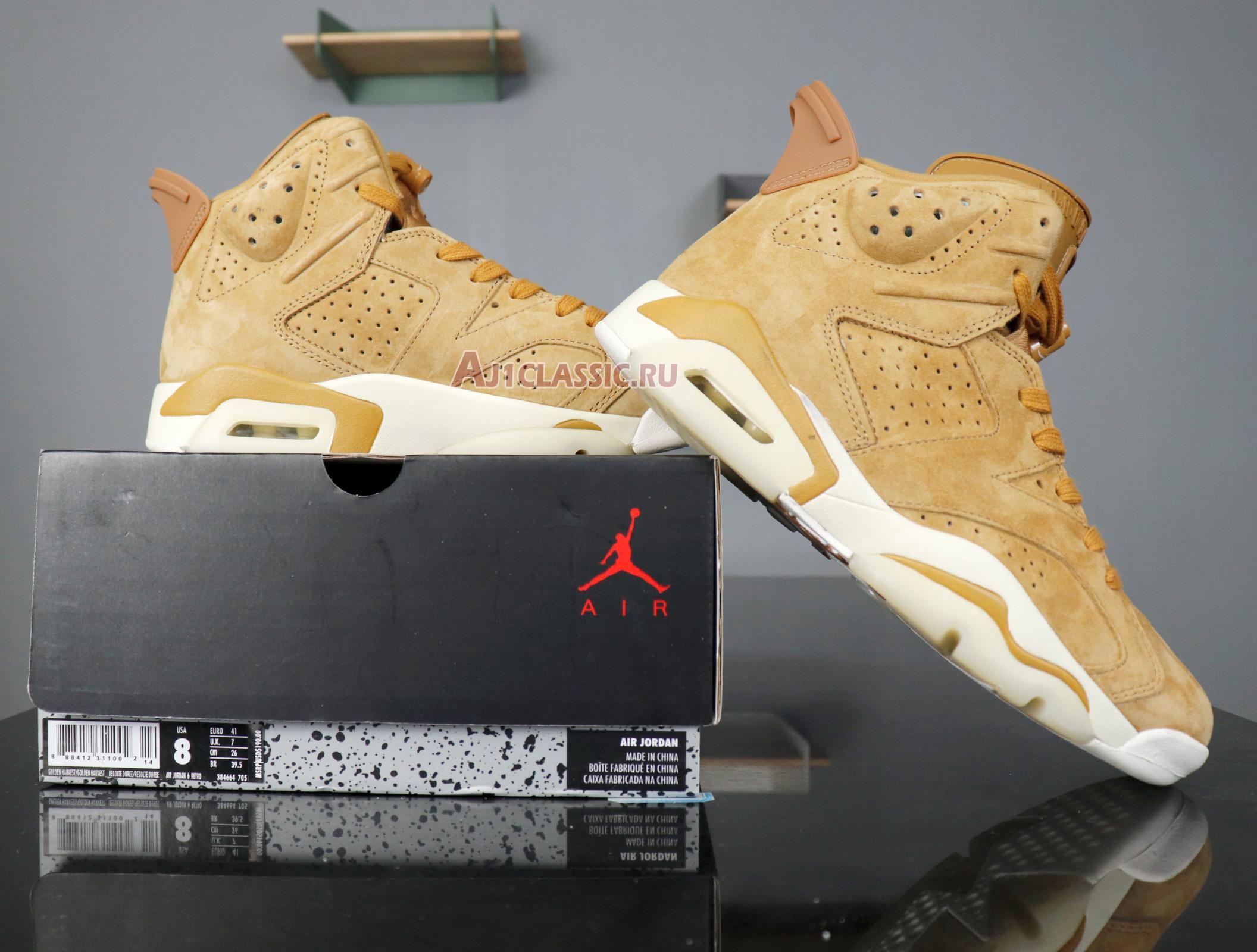 """Air Jordan 6 Retro """"Wheat"""" 384664-705"""