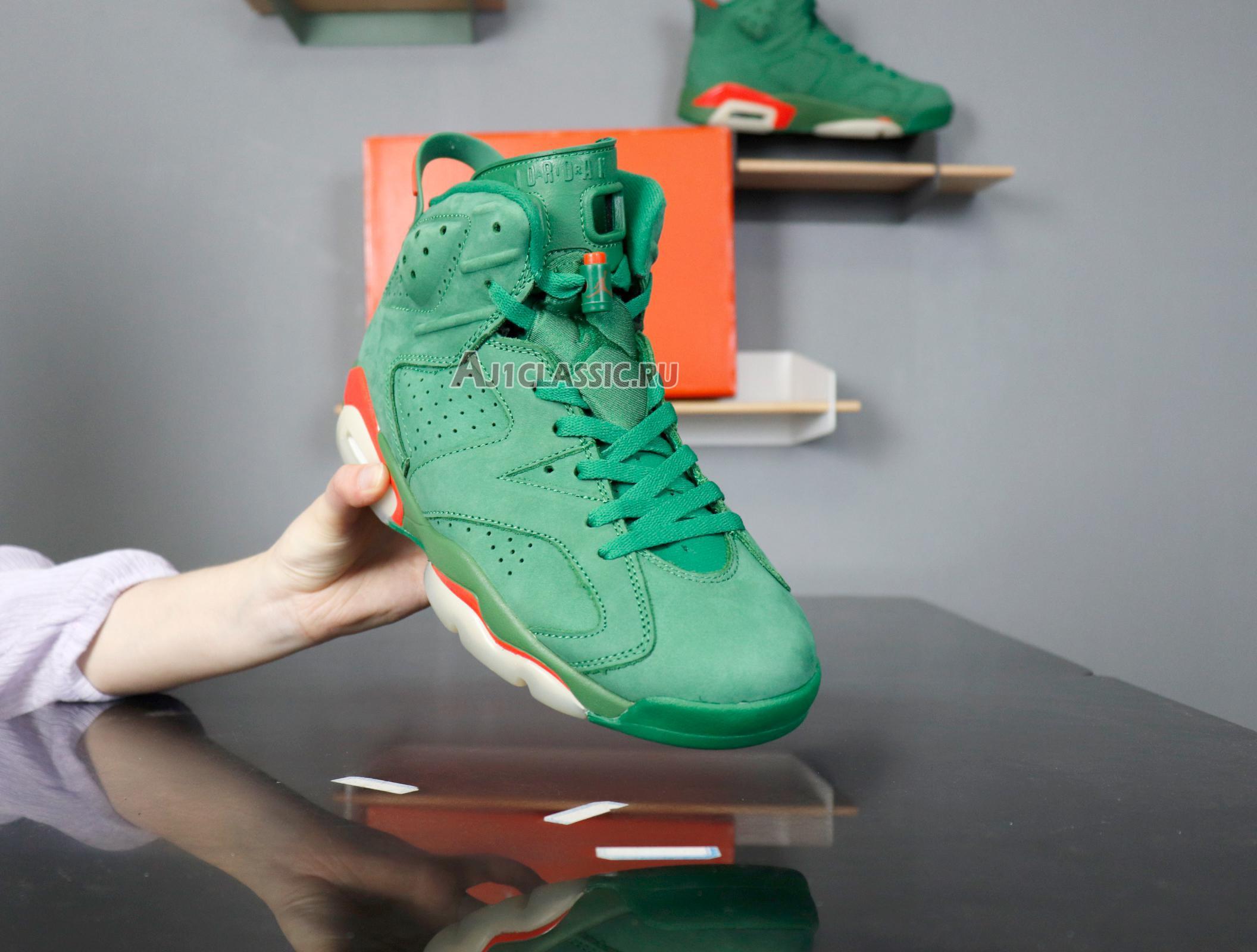 """Air Jordan 6 Retro NRG """"Green Suede Gatorade"""" AJ5986-335"""