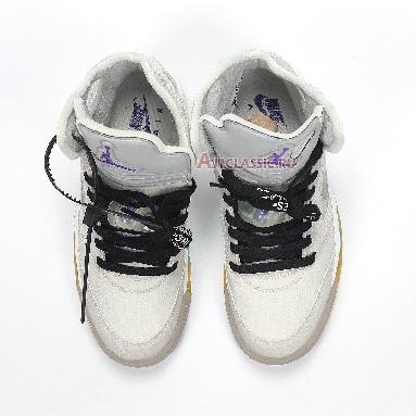 Air Jordan 5 Retro Grey CT8480-105 Grey/Yellow/Green/Purple/Black Sneakers