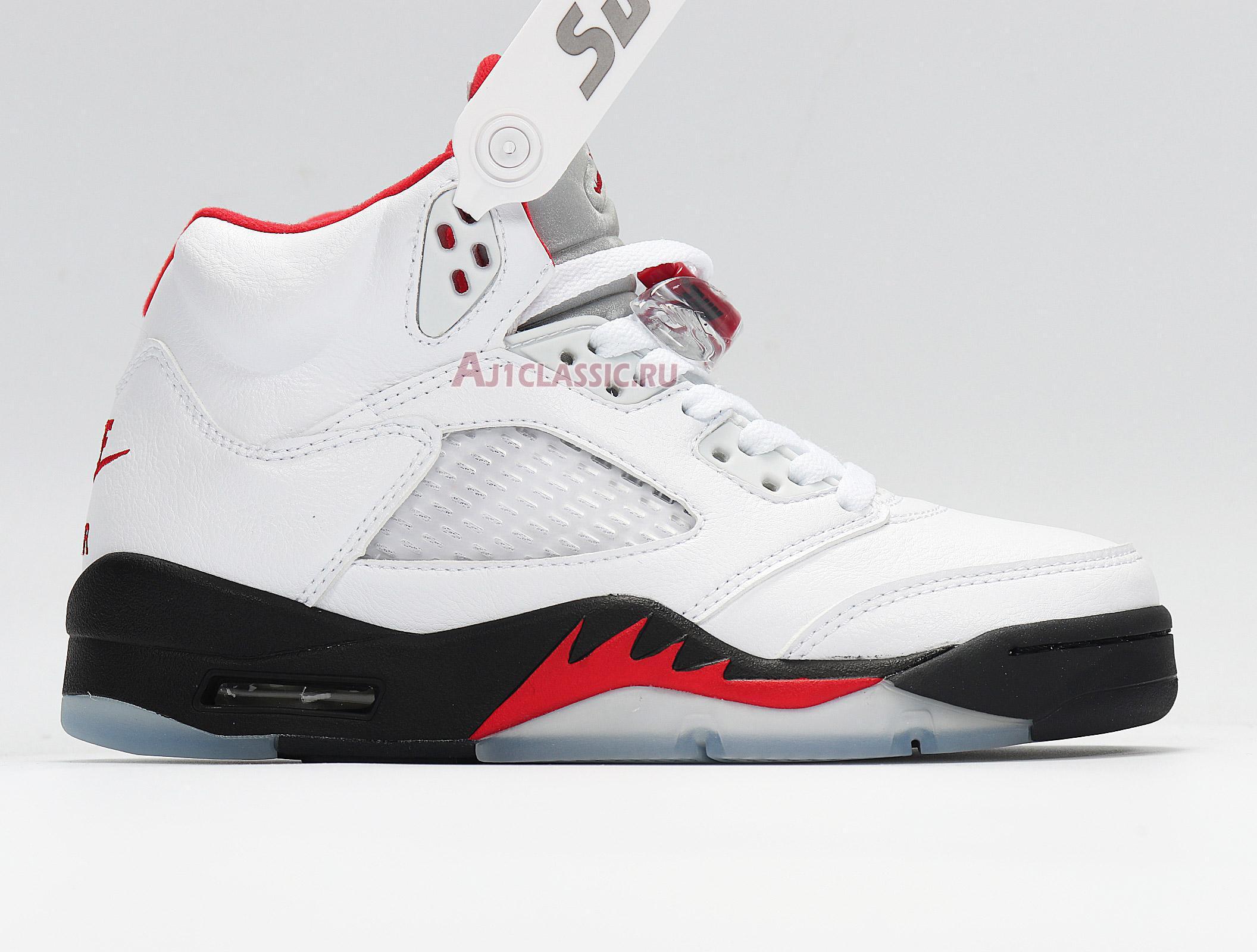 "Air Jordan 5 Retro ""Fire Red"" 2020 DA1911-102"