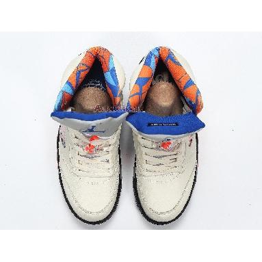 Air Jordan 5 Retro International Flight 136027-148 Sail/Orange Peel-Black-Hyper Royal Sneakers