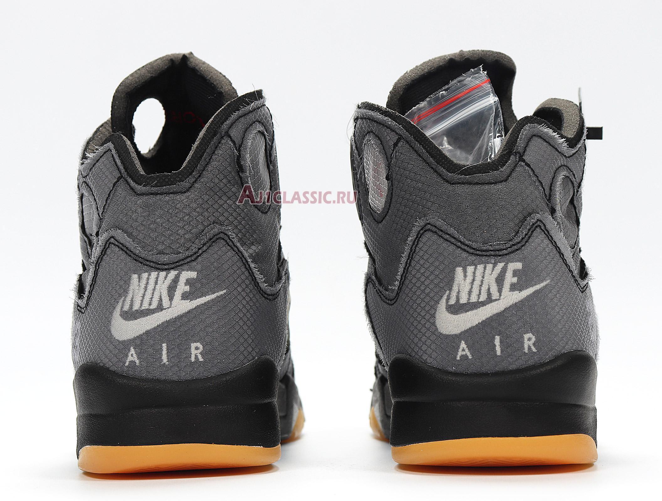 """Off-White x Air Jordan 5 Retro SP """"Muslin"""" CT8480-001"""