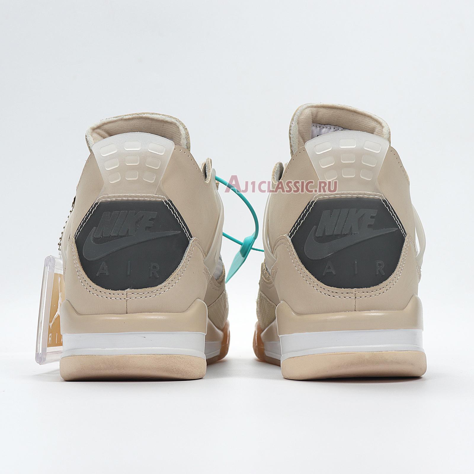 """Off-White x Air Jordan 4 SP """"Sail"""" CZ5567-100"""