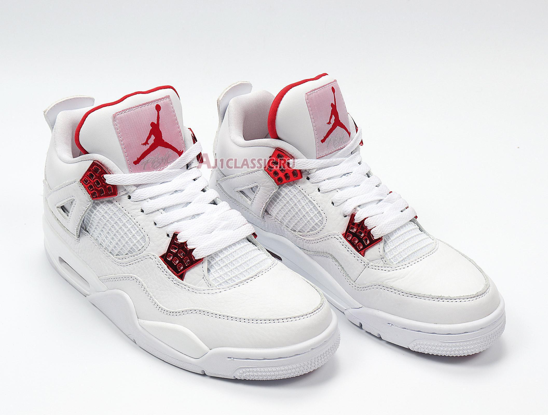 """Air Jordan 4 Retro """"Red Metallic"""" CT8527-112"""