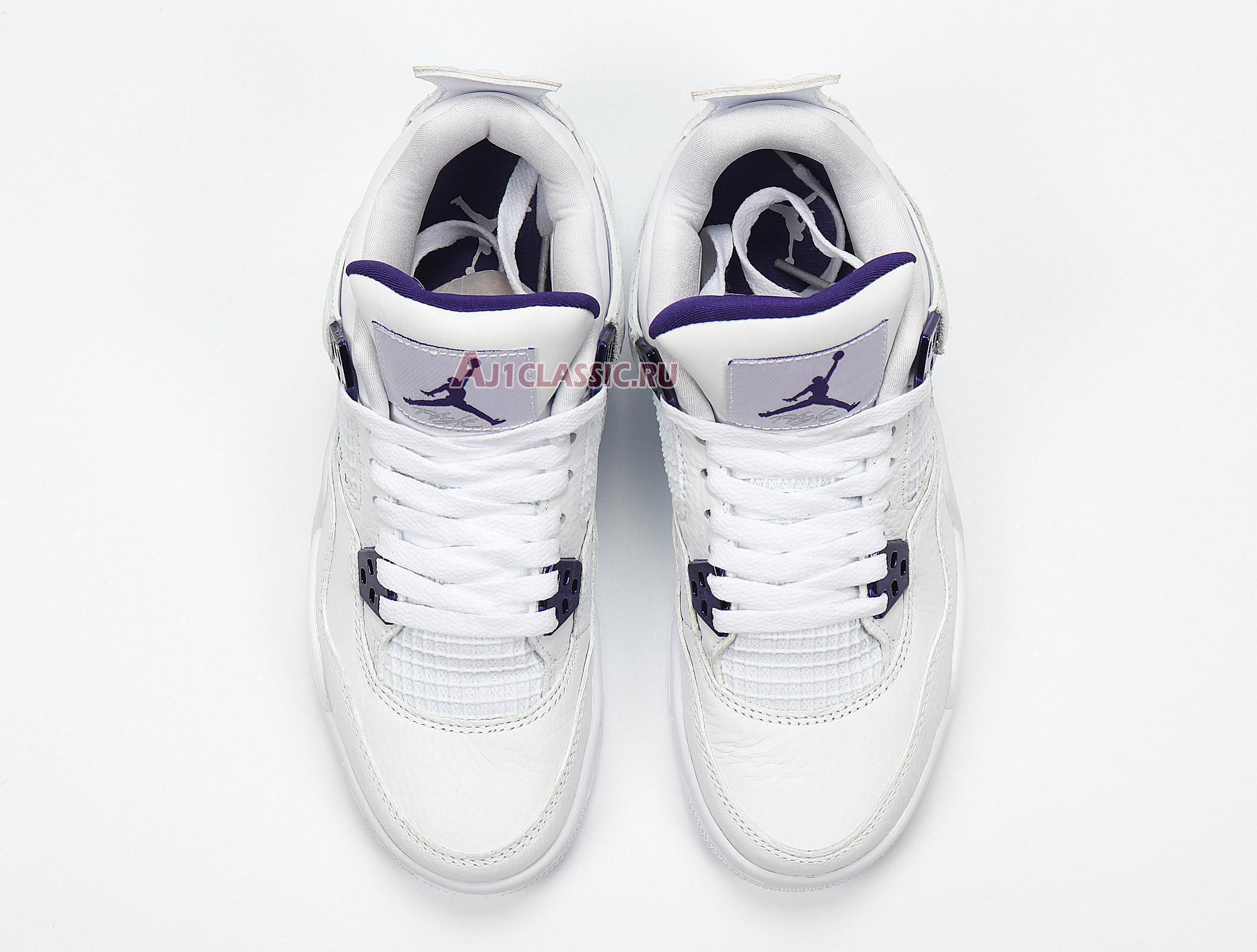 "Air Jordan 4 Retro ""Purple Metallic"" 408452-115"
