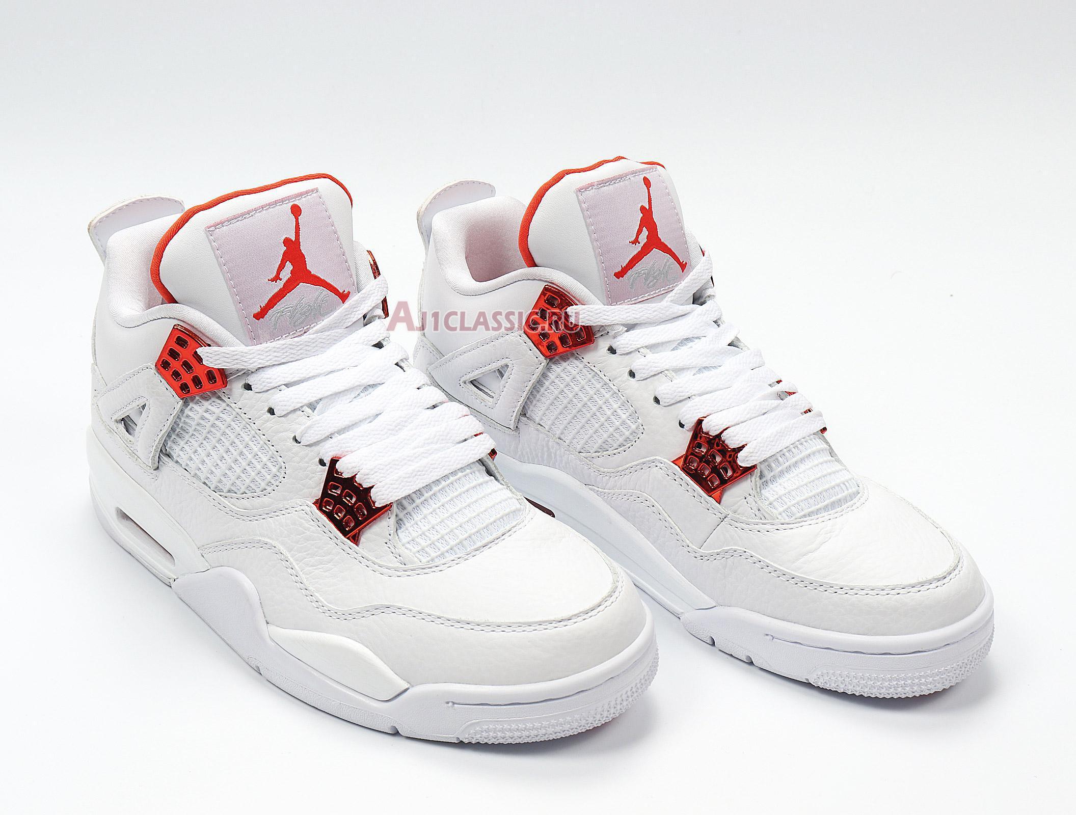 "Air Jordan 4 Retro ""Orange Metallic"" CT8527-118"
