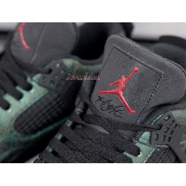 Air Jordan 4 Laser Jalen Ramsey AJ4-1043515 Green/Black Sneakers