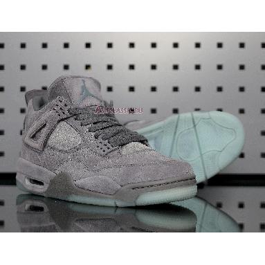 KAWS x Air Jordan 4 Retro Cool Grey 930155-003 Cool Grey/White Sneakers