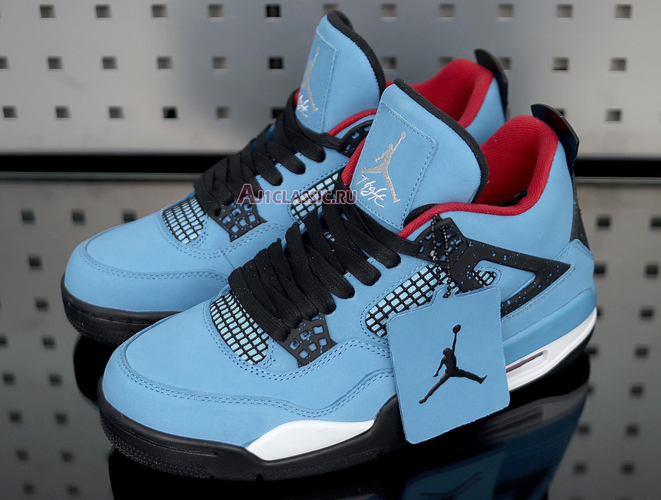 """Travis Scott x Air Jordan 4 Retro """"Cactus Jack"""" 308497-406"""