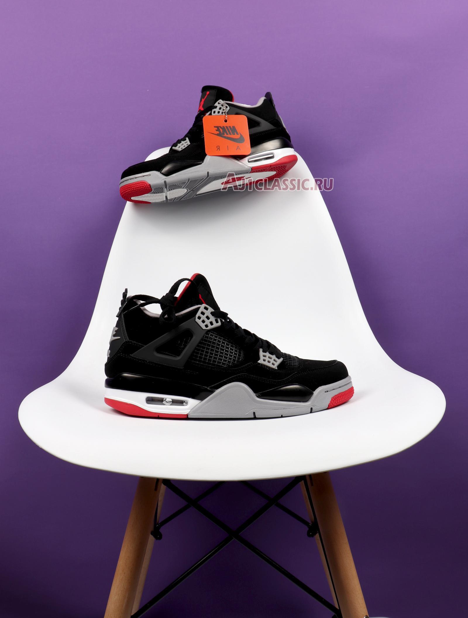 """Air Jordan 4 Retro OG """"Bred"""" 2019 308497-060"""