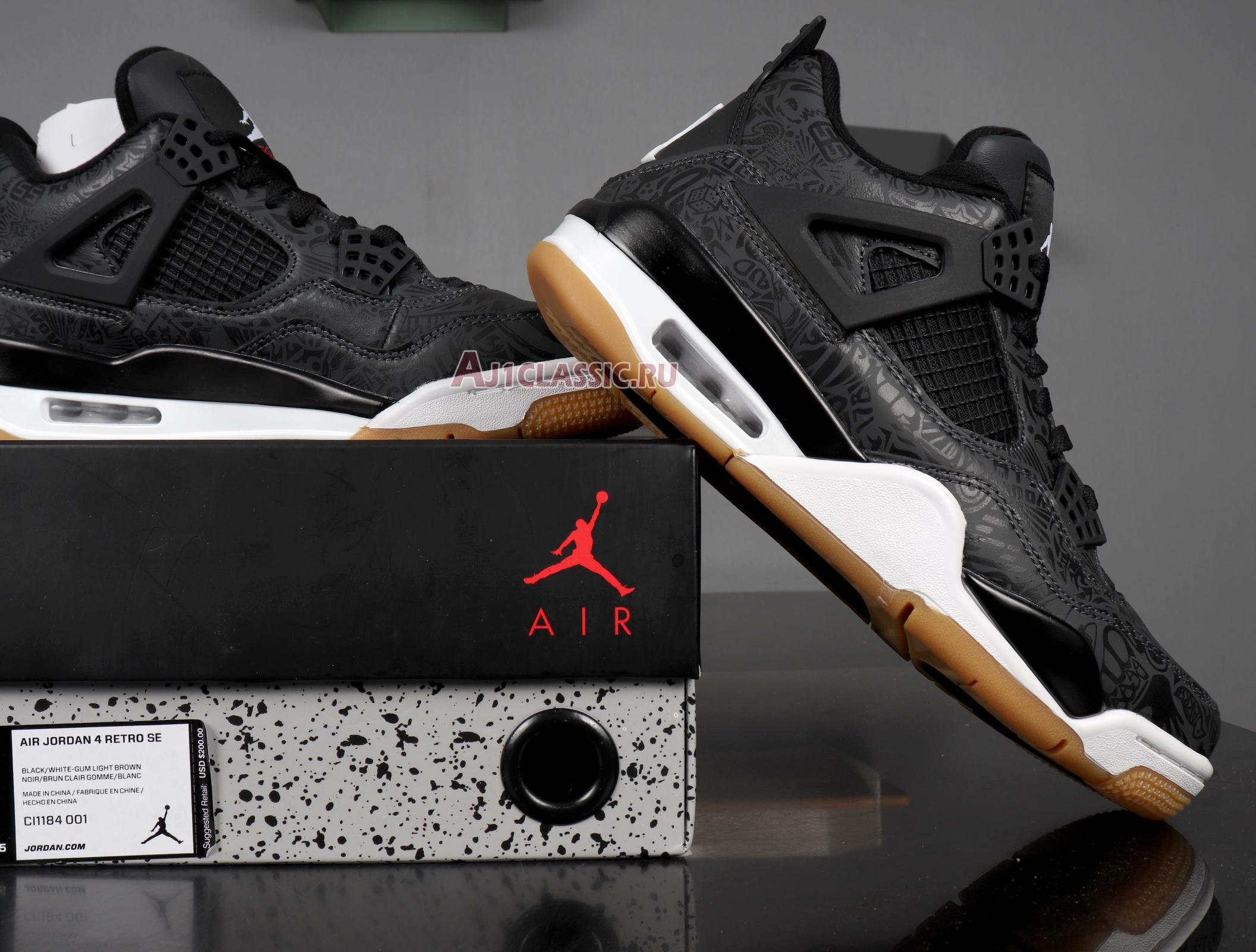 "Air Jordan 4 Retro ""Laser"" CI1184-001"