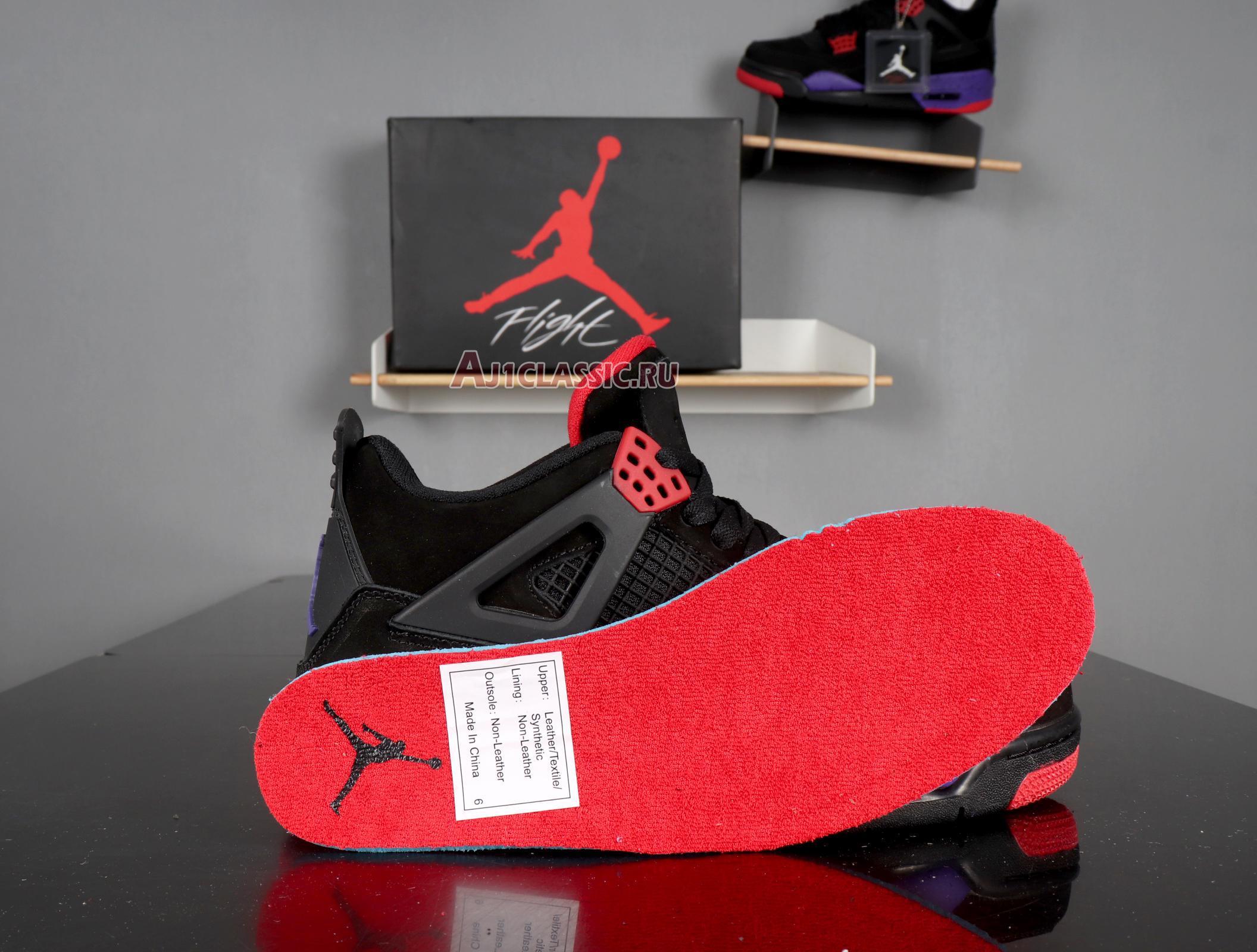 """Air Jordan 4 Retro NRG """"Raptors"""" AQ3816-065"""