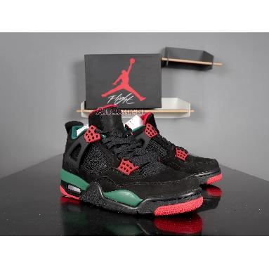 Air Jordan 4 NRG Gucci AQ3816-063 Black/Gorge Green-Varsity Red Sneakers