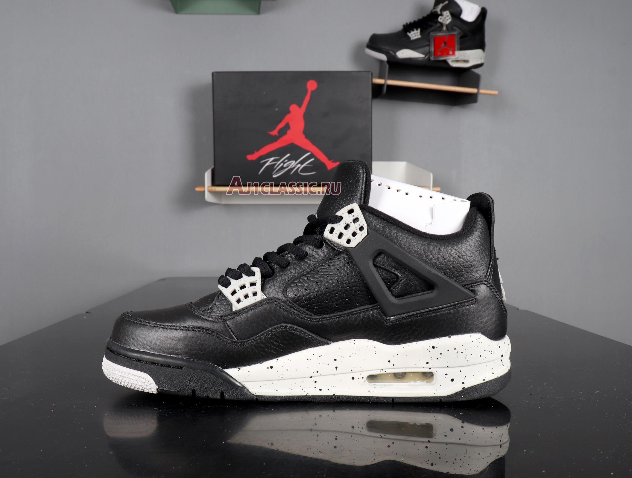 """Air Jordan 4 Retro LS """"Oreo"""" 2015 314254-003"""