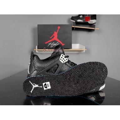 Air Jordan 4 Retro LS Oreo 2015 314254-003 Black/Tech Grey-Black Sneakers