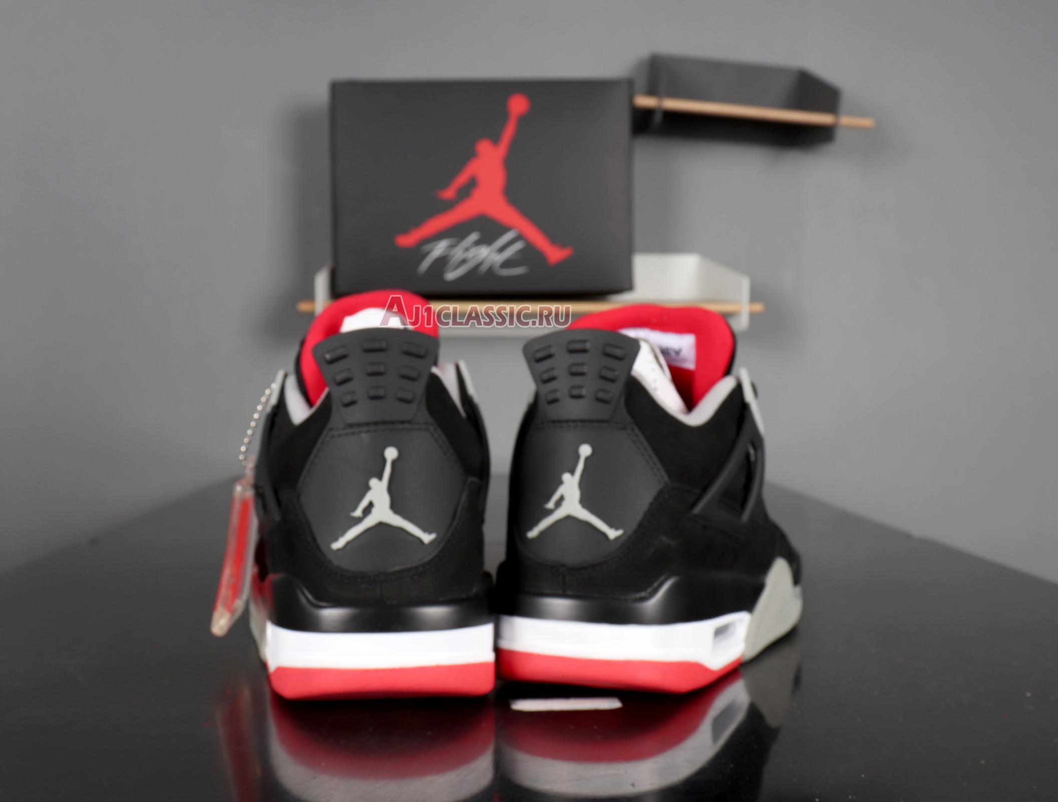 "Air Jordan 4 Retro ""Bred"" 2012 308497-089"