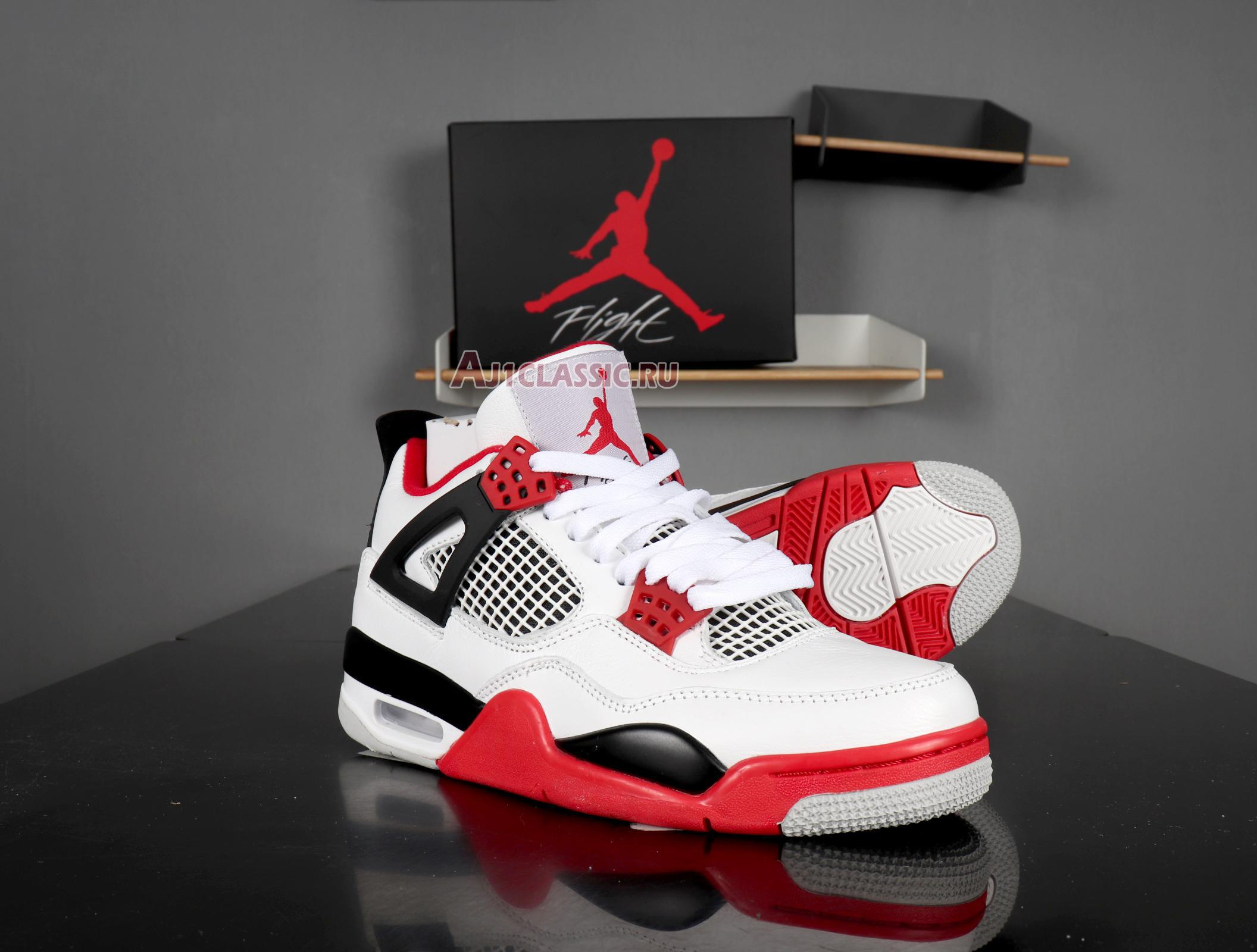 "Air Jordan 4 Retro ""Fire Red"" 2012 308497-110"