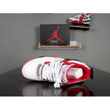 Air Jordan 4 Retro Fire Red 2012 308497-110 White/Varsity Red-Black Sneakers