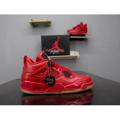 Air Jordan 4 Retro NRG Singles Day AV3914-600 Fire Red/Summit White-Black Sneakers