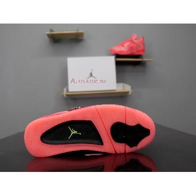 Air Jordan 4 Retro NRG Hot Punch AQ9128-600 Hot Punch/Black-Volt Sneakers