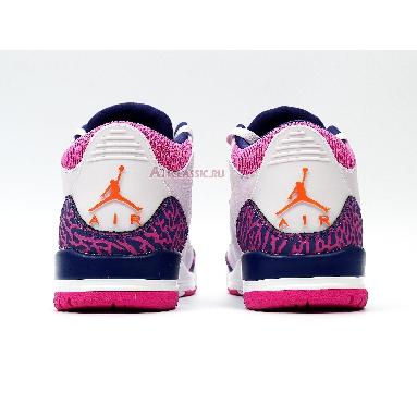 Air Jordan 3 Retro GG Barely Grape 441140-500 Barely Grape/Hyper Crimson/Fire Pink Sneakers