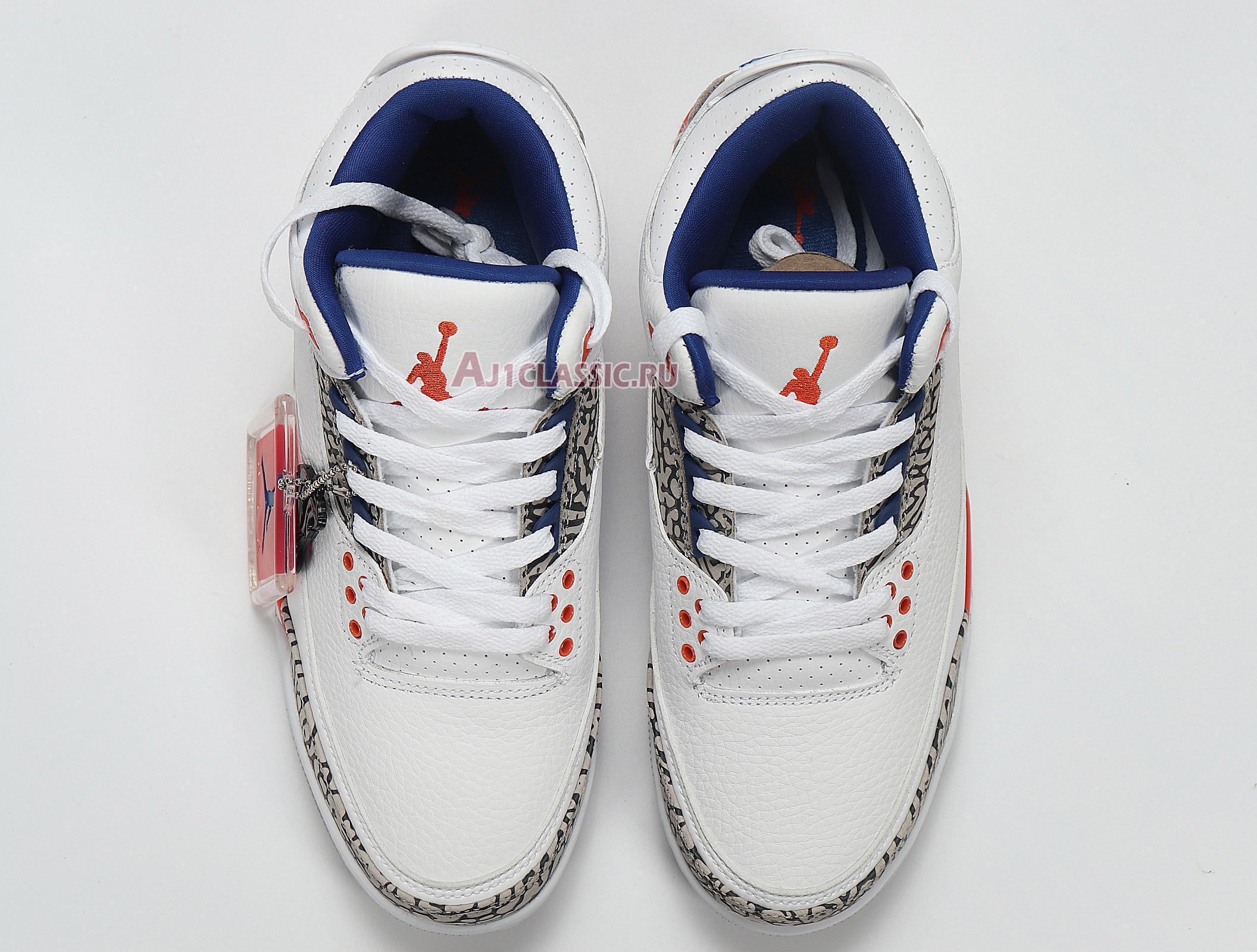 """Air Jordan 3 Retro """"Knicks"""" 136064-148"""