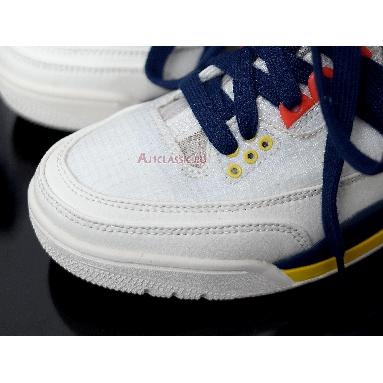 Air Jordan 3 RTR EXP Lite Sail Blue Void BQ8394-100 Sail/Turf Orange-Bright Citron-Blue Void Sneakers