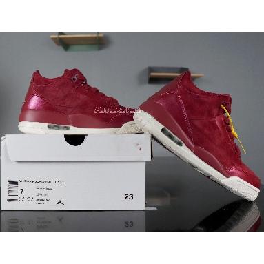 Air Jordan 3 Retro Bordeaux AH7859-600 Bordeaux/Sail Sneakers