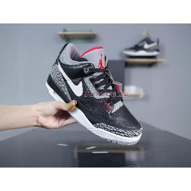 Air Jordan 3 Retro OG Black Cement AV6683-001 Black/Cement Grey-White-Fire Red Sneakers