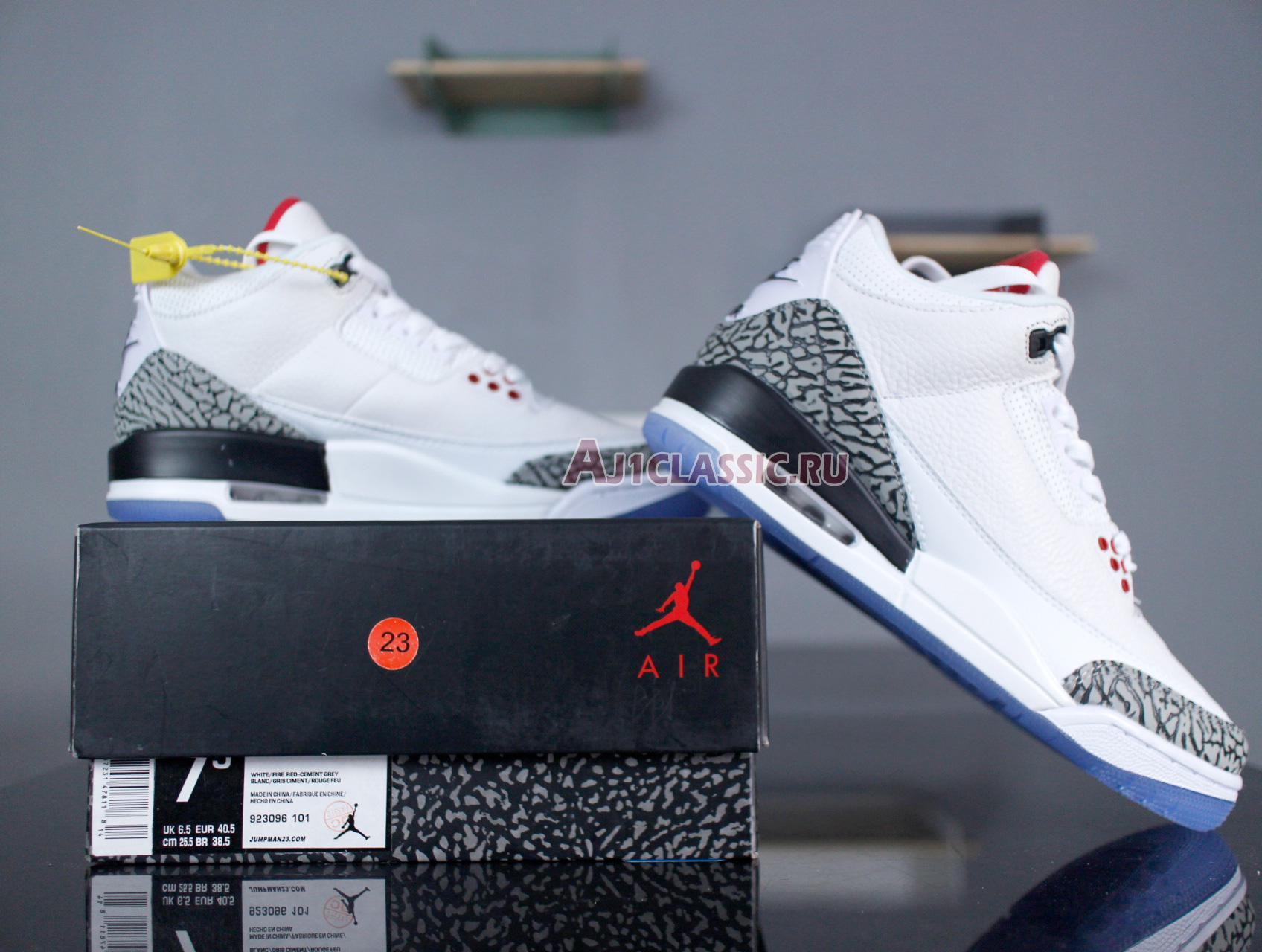 "Air Jordan 3 Retro NRG ""Free Throw Line"" 923096-101"
