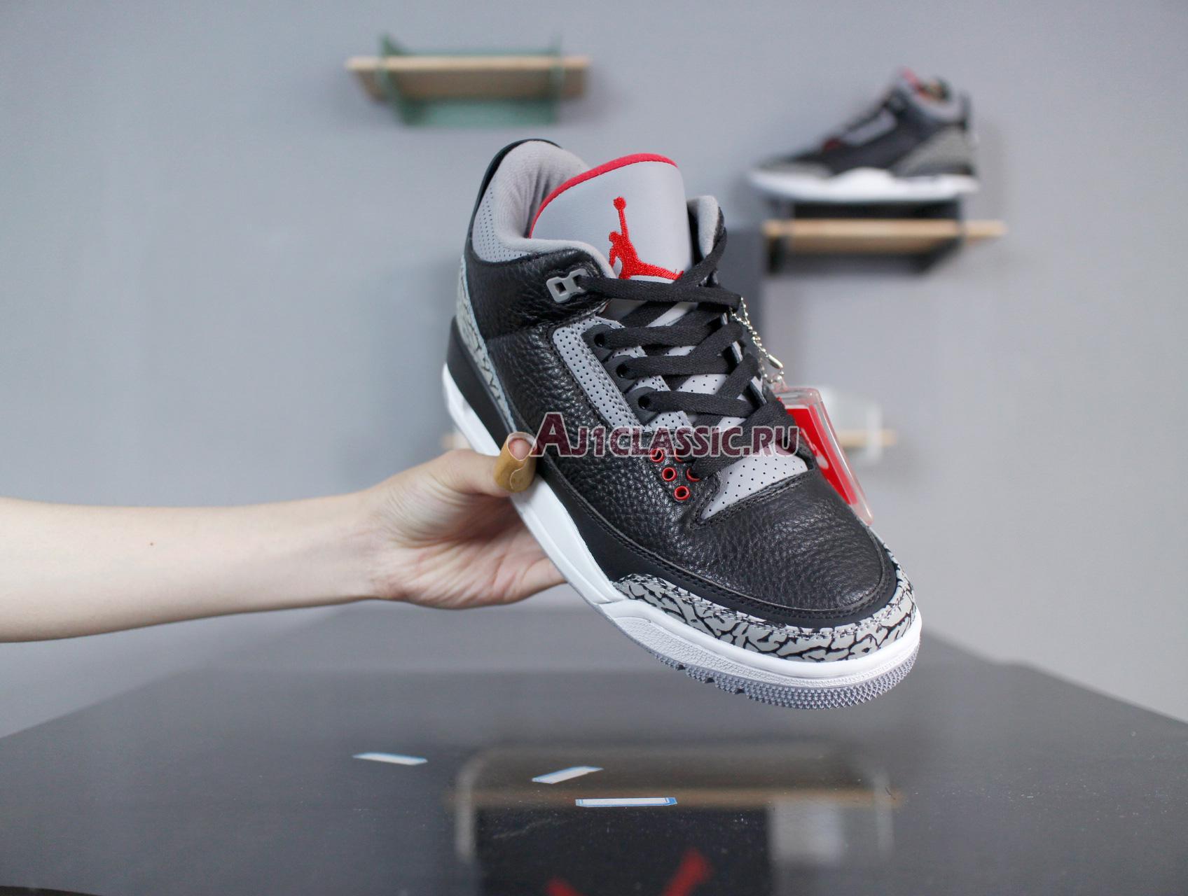 "Air Jordan 3 Retro OG ""Black Cement"" 2018 854262-001"