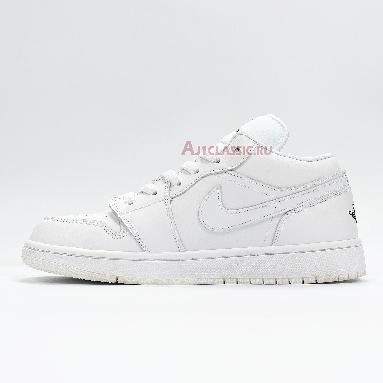 Air Jordan 1 Low White Black 553560-101 White/Black/White Sneakers