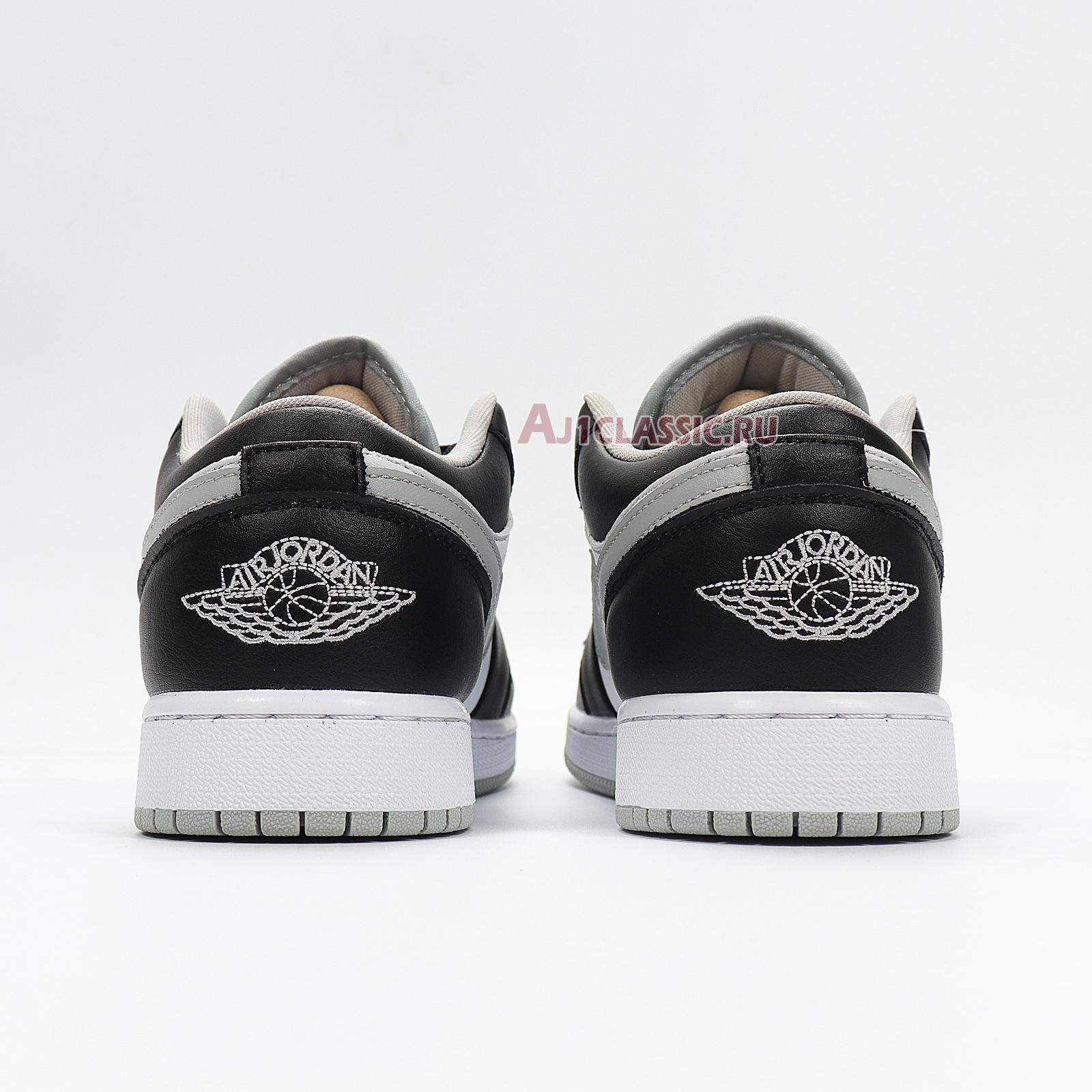 """Air Jordan 1 Low """"Smoke Grey"""" 553558-039"""