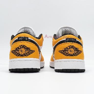 Air Jordan 1 Low Laser Orange CZ4776-107 White/Laser Orange-Black Sneakers