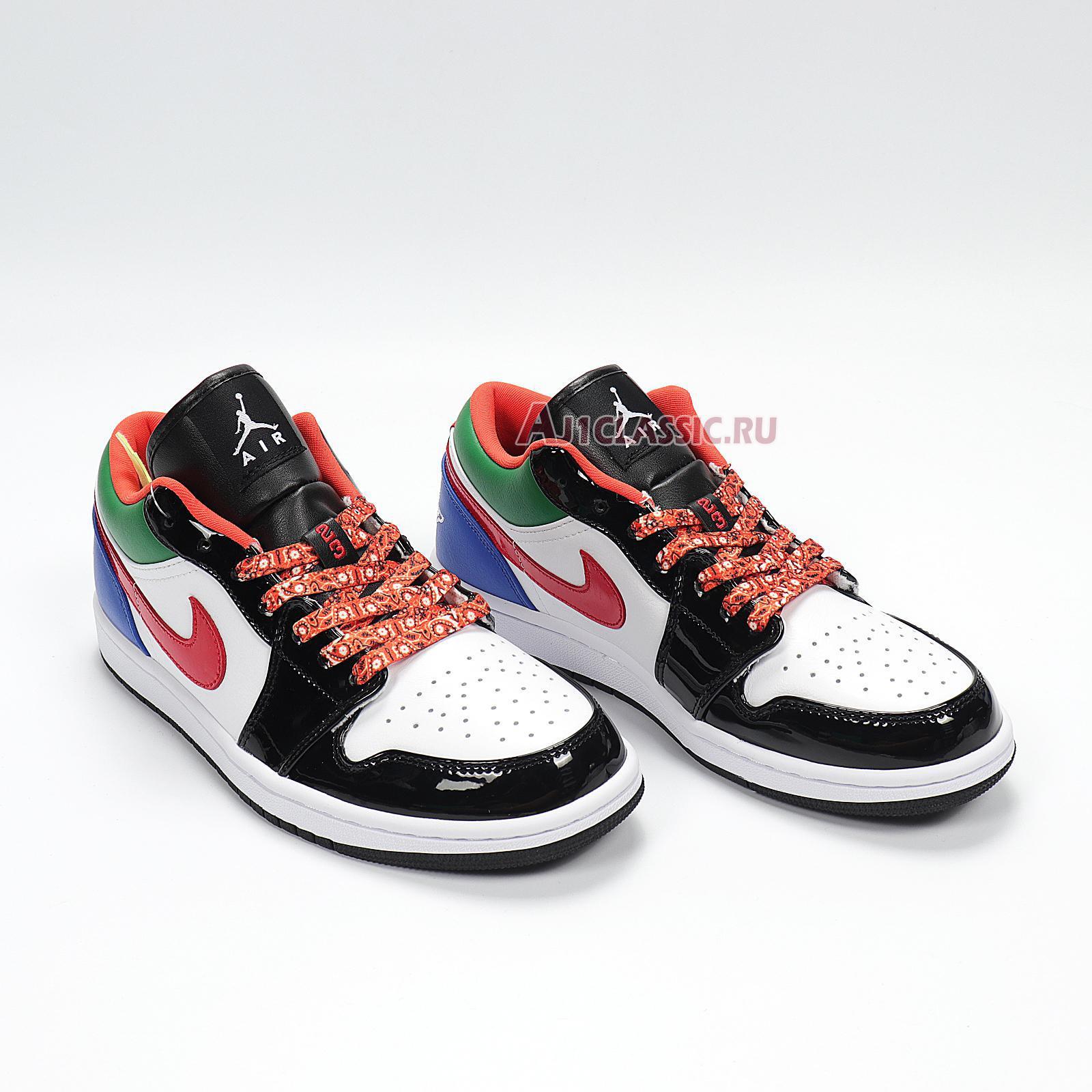 """Air Jordan 1 Low """"Multi-Color"""" CZ4776-101"""