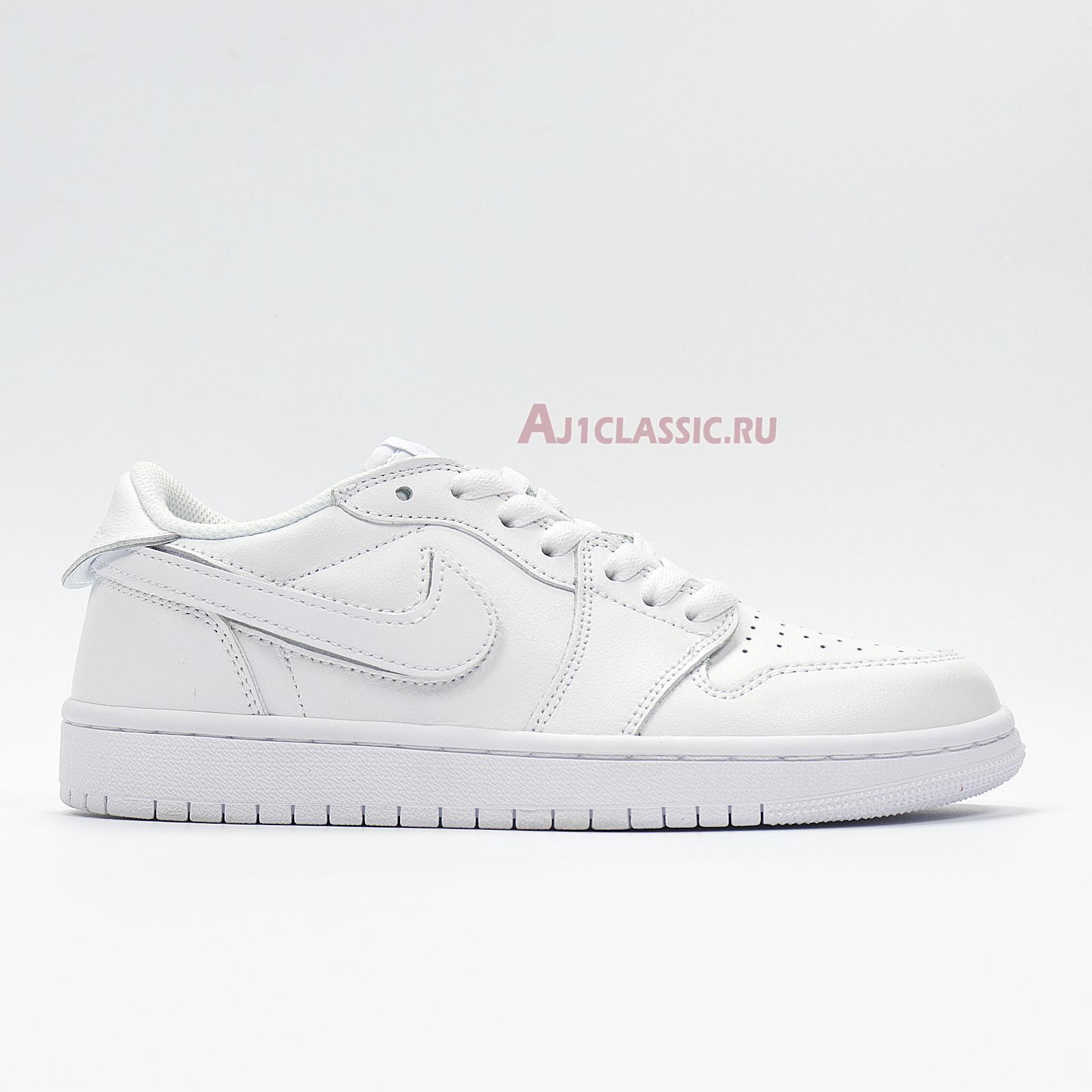 "Air Jordan 1 Low ID Velcro ""White"" CJ7891-ID"