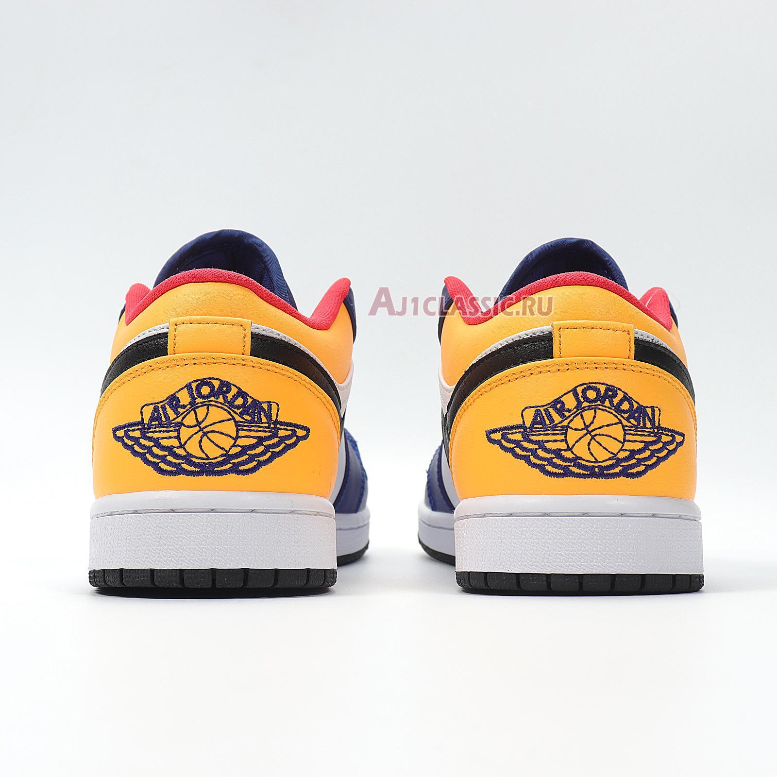 """Air Jordan 1 Low """"Royal Yellow"""" 553558-123"""
