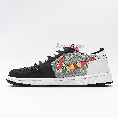 Air Jordan 1 Low OG Chinese New Year CW0418-006 Black/Red/Pink/White Sneakers