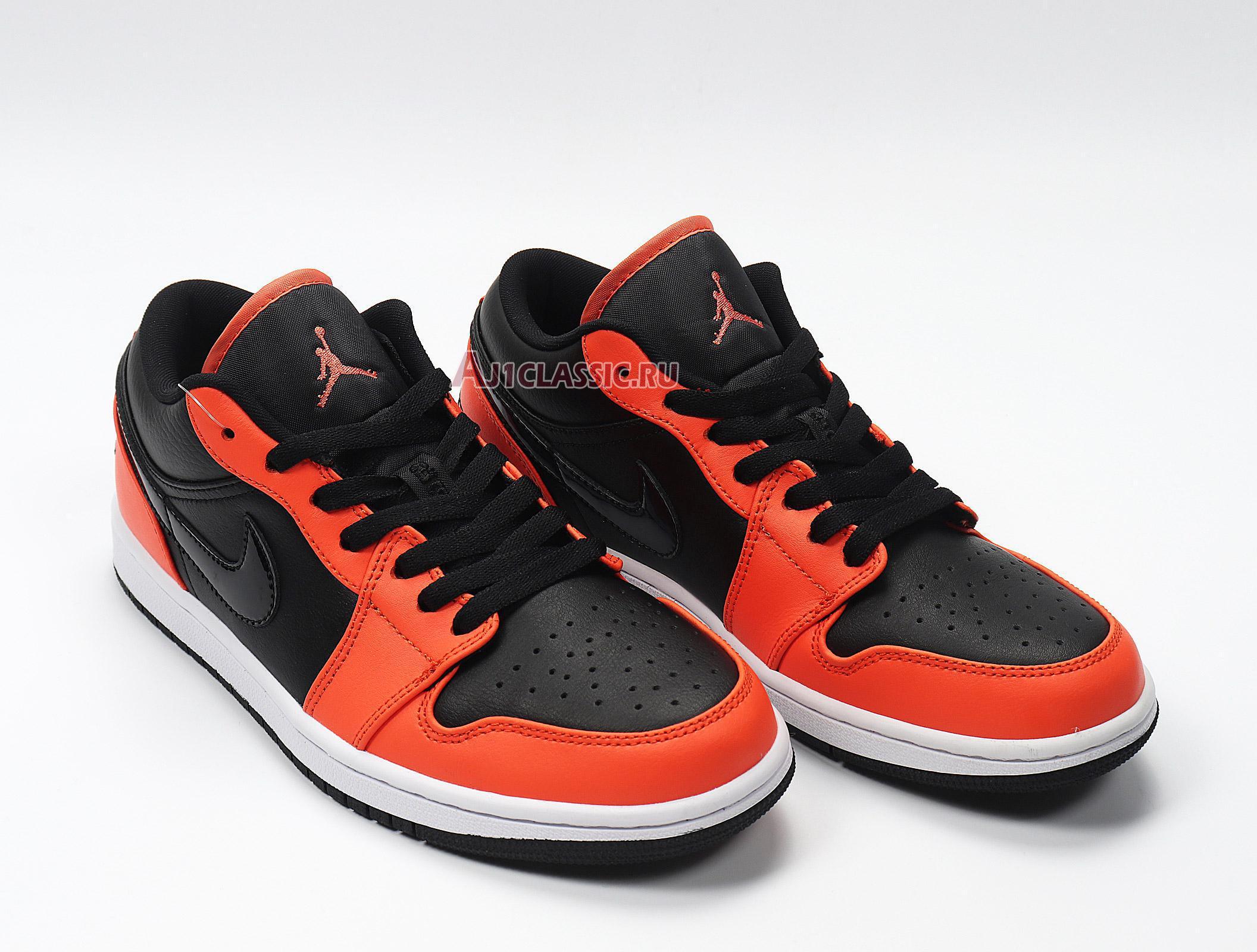"""Air Jordan 1 Low """"Black Orange Toe"""" CK3022-008"""