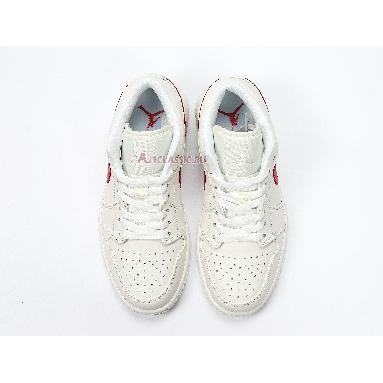 Air Jordan 1 Low University Red AO9944-161 White/University Red Sneakers