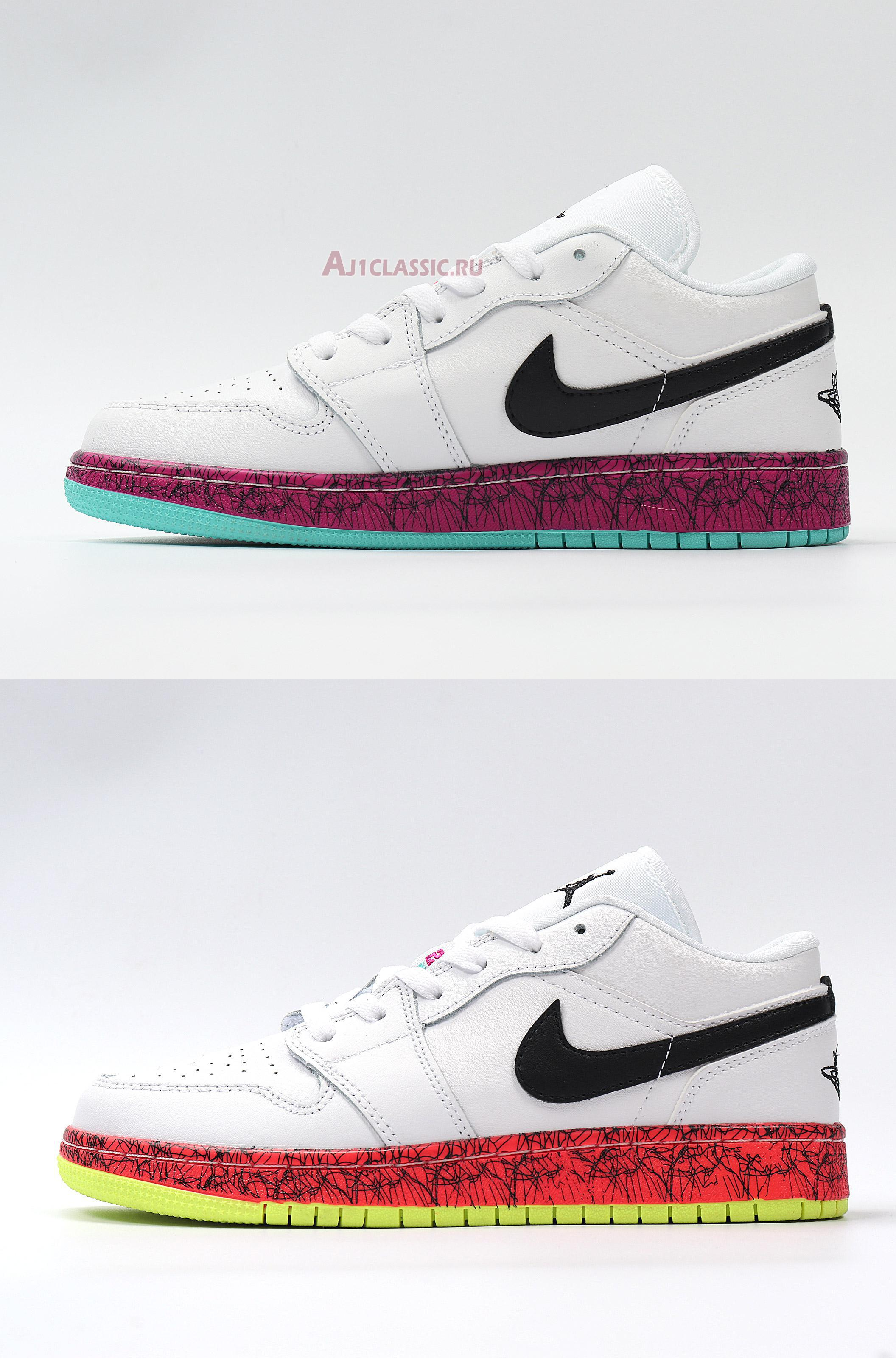 """Air Jordan 1 Low GS """"Multi-Color"""" CV9548-100"""