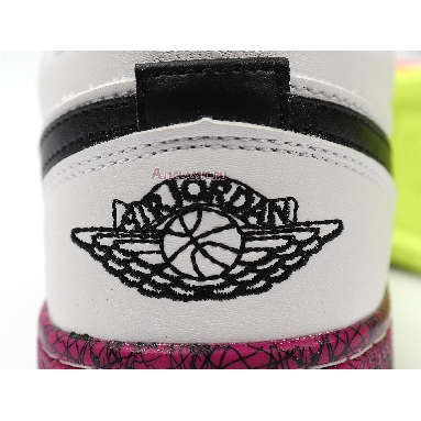 Air Jordan 1 Low GS Multi-Color CV9548-100 White/Black/Red Sneakers