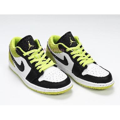 Air Jordan 1 Low Cyber CK3022-003 Black/Cyber/White Sneakers