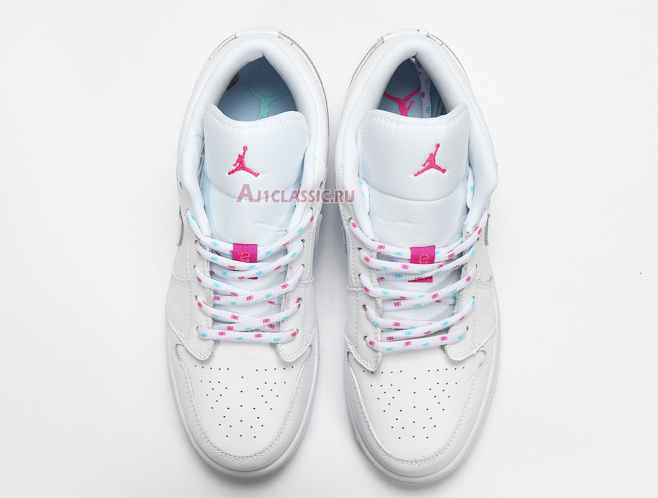 "Air Jordan 1 Low GS ""Candy"" 554723-102"