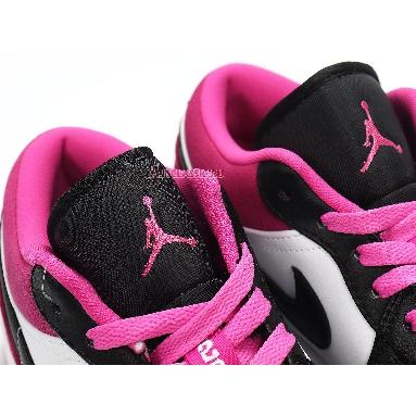 Air Jordan 1 Low SE Fuchsia CK3022-005 Black/White-Magenta Sneakers
