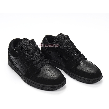 Air Jordan 1 Retro Low Triple Black 553558-025 Black/Black Sneakers