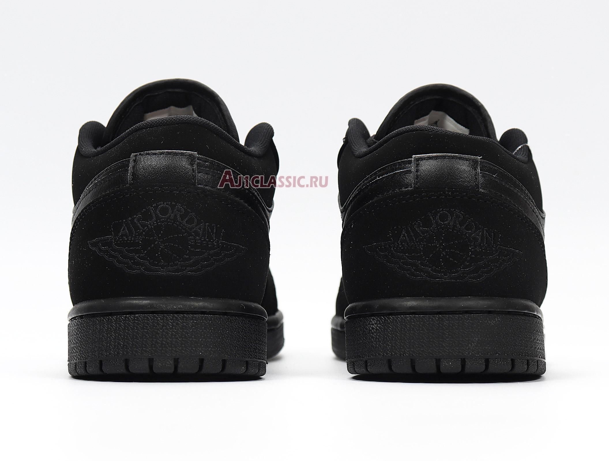 """Air Jordan 1 Retro Low """"Triple Black"""" 553558-025"""