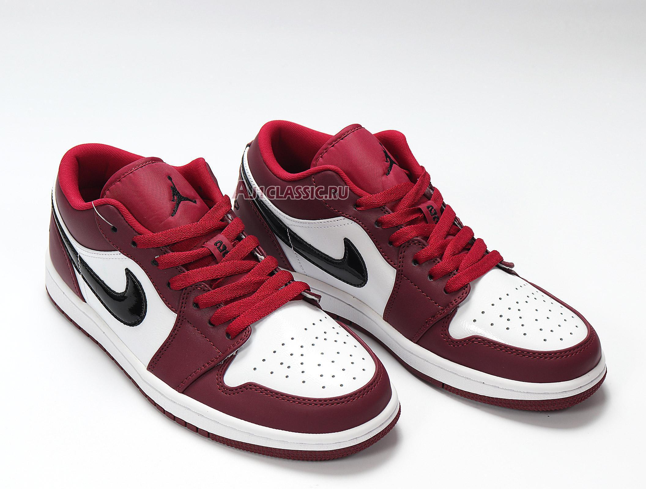"""Air Jordan 1 Low """"Noble Red"""" 553558-604"""