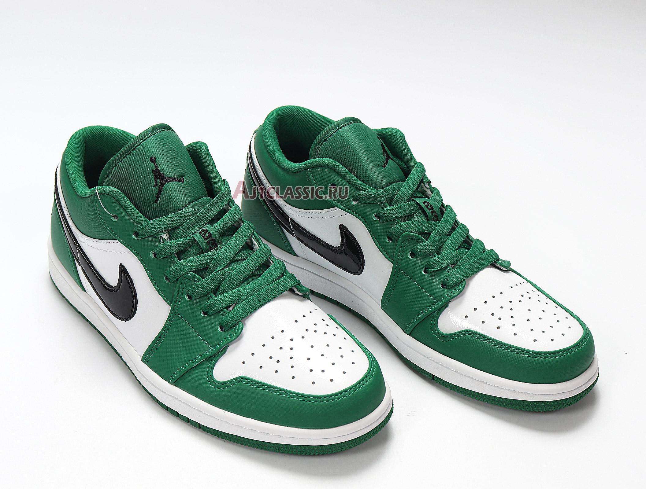 """Air Jordan 1 Low """"Pine Green"""" 553558-301"""